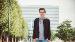 Dirk uit Mierlo slaagde voor drie masters aan de TU Eindhoven Cum Laude. (Foto: Loraine Bodewes)