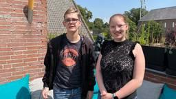 Jesse Beekman en Liesl Vermeulen (foto: Tom van den Oetelaar).