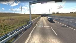 De Sluiskiltunnel vlakbij Terneuzen, de auto op de foto is niet de auto uit het verhaal (afbeelding: Google Streetview).