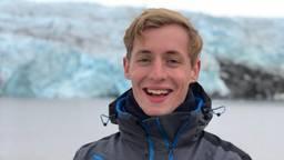 Brandon van Schaik op Spitsbergen (foto: Brandon van Schaik).