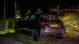 De auto waarmee het groepje werd aangereden (foto: Toby de Kort/SQ Vision).