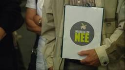Meer dan tien jaar geleden al tekenden 35.000 Brabanders voor minder megastallen.