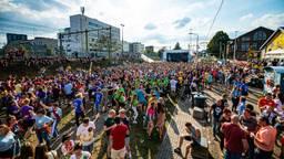 Purple Festival in de Tilburgse Spoorzone in 2019 (foto: Fontys)