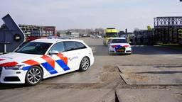 Bedrijfsongeval bij Janson Bridging (foto: Jeroen Stuve/ SQ Vision).