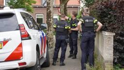 De politie is een zoekactie gestart in de omgeving. Foto: Jeroen Stuve - SQ Vision Mediaprodukties