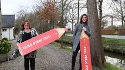 Burgemeester Marina Starman en Sem Rozendaal.  Door: Jan Stads / Pix4Profs