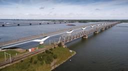 De brug waaraan gewerkt gaat worden (foto: ProRail).