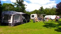 Camping de Paal in Bergeijk zit tot het einde van de zomervakantie volgeboekt.