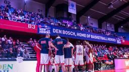 Heroes Den Bosch bij hun vorige Europa Cup-wedstrijd.