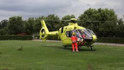 Een traumahelikopter (foto: Sander van Gils/SQ Vision Mediaprodukties).