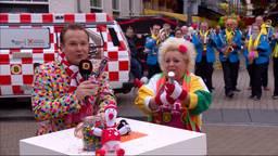 Jordy en Christel, hier bij de seizoensopening van carnaval 2018, hebben dit jaar een aangepast Fijnfisjenie Café.