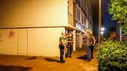 Politieonderzoek in de buurt van de Van Thienenlaan in Eindhoven (foto: Sem van Rijssel/SQ Vision).