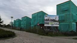 De onafgebouwde huizen aan de Houtse Akker (foto: Ferenc Triki)
