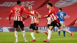 Malen scoorde opnieuw voor PSV (foto: ANP).