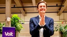 Volt-lijsttrekker Laurens Dassen (foto: ANP / Hollandse Hoogte / Robin Utrecht).