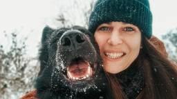 Hondentrainster Marloes van der Velden geeft wintertips aan hondenbezitters.