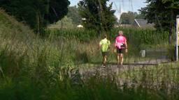 Bram (11) heeft de eerste kilometers in de benen.