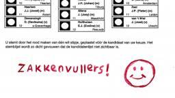 Zakkenvullers of een smiley is niet verboden (beeld: de kiesraad)
