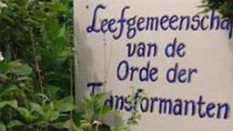 De Orde der Transformanten had een leefgemeenschap in Hoeven. (Foto: Omroep Brabant)