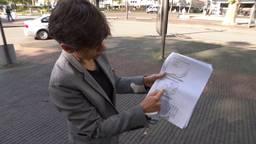 Gouverneur Cathy Berx van de provincie Antwerpen laat de cijfers zien.