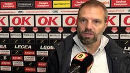 Maurice Steijn, coach van NAC.