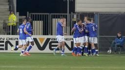 FC Den Bosch viert het winnende doelpunt (foto: Orange Pictures).