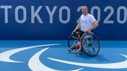 Paralympiër Maikel Scheffers in Tokio
