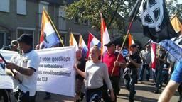 Protestactie van NVU (archieffoto).