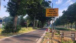 Omwonenden moeten rekening houden met slecht zicht door de rook (foto: Tonnie Vossen).