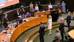 De nieuwe leden van Gedeputeerde Staten werden half mei geïnstalleerd. (foto: ANP 2020/Dirk Hol).