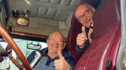 Henk Wijngaard (links) en Peter van Vlokhoven (eigen foto).