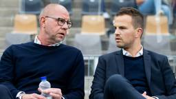 RKC-trainer Fred Grim en algemeen directeur Frank van Mosselveld (foto: Hollandse Hoogte).