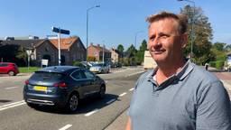 Jan Wijnen strijdt al jaren om verkeersmaatregelen (archieffoto: Erik Peeters)