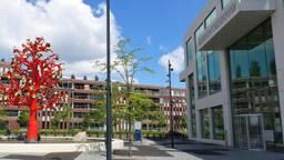 Het gerechtsgebouw in Breda (foto: Henk Voermans).