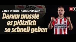 Bild over de komst van Götze naar PSV.