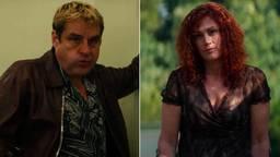 Monic Hendrickx speelt in de film Ferry's zus Claudia (beeld: Netflix).