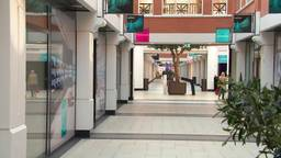De helft van de panden in winkelcentrum Arendshof staat momenteel leeg.