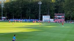 Een beeld van de wedstrijd PSV - PSV (foto: Job Willemse).