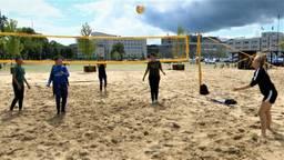 Breda heeft sinds vrijdag een hele grote zandbak op het Chasséveld