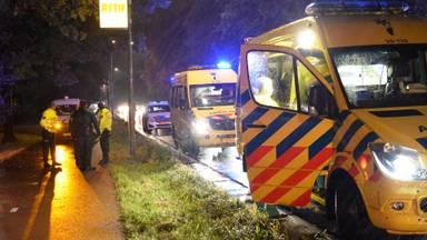 Het ongeluk gebeurde op het fietspad langs de Backer en Ruebweg in Breda (foto: Perry Roovers/SQ Visioon).