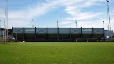 Het huidige stadion van Helmond Sport (Archieffoto: Kevin Cordewener)