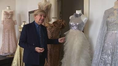 Addy van den Krommenacker mocht eindelijk weer lekker ontwerpen, voor het 56ste Televizier-Gala