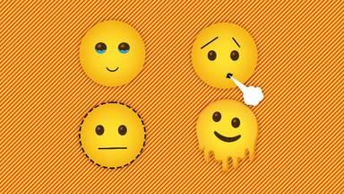 Deze vier emoji's komen eraan (foto: Omroep Brabant).