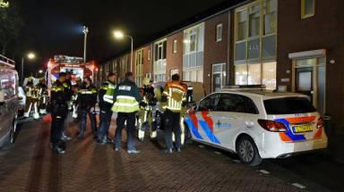 Vanwege de brand in Tilburg werden meerdere hulpdiensten opgeroepen (foto: Toby de Kort/SQ Vision).