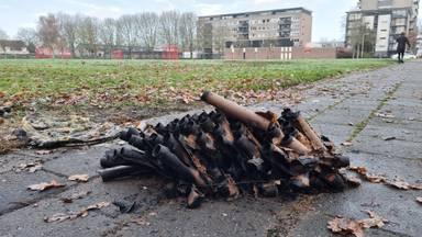 Het was maandagavond goed raak met vuurwerk in Roosendaal (foto: Noël van Hooft).