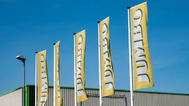 Jumbo vlaggen (Archieffoto: Kevin Cordewener)