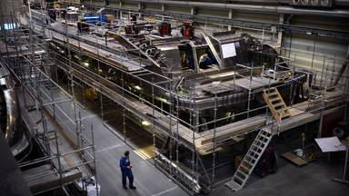Heesen Yachts bouwt superjachten voor de allerrijksten van deze wereld (foto: Marcel van den Bergh/ANP).
