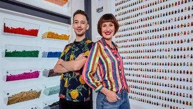 Jan en Lola winnen LEGO Masters (Foto: RTL/William Rutten)