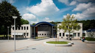 Het Mill Hill College in Goirle (afbeelding: Google-Streetview).