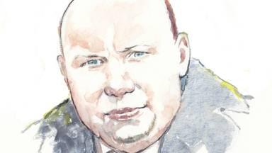 Mark M. alias de politiemol (foto: ANP).